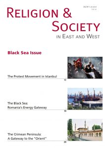 Protest Movement in Istanbul_Religion & Society_Black Sea issue_cover